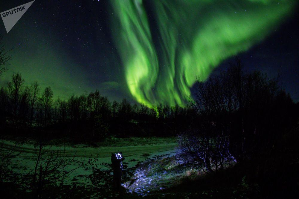 Lo spettacolo dell'aurora boreale