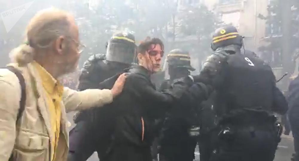 Disordini a Parigi