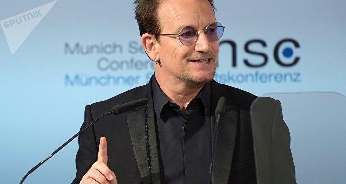 Bono Vox alla 53.ma conferenza sulla sicurezza di Monaco