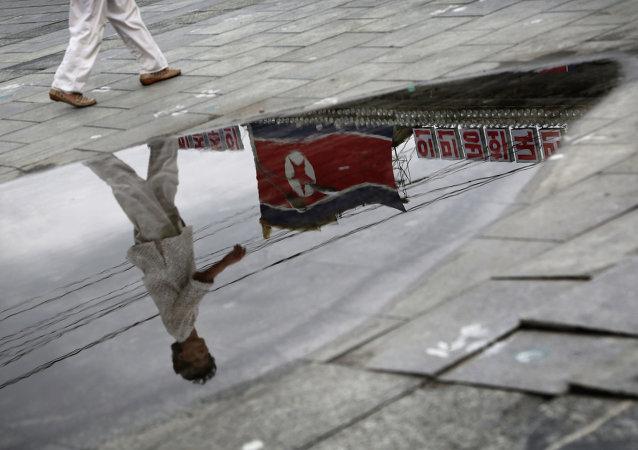 Bandiera nordcoreana