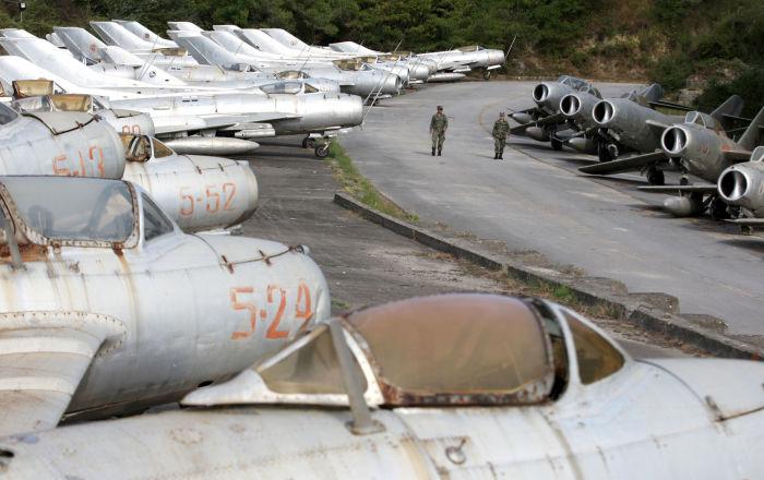 La prima base Nato in Albania