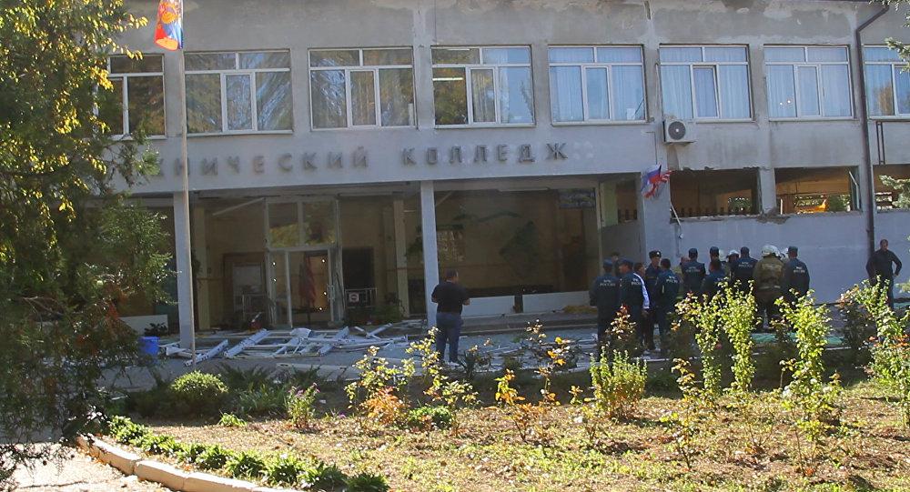 L'attentato alla scuola politecnica a Kerch