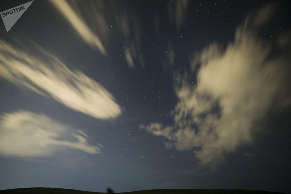 Il cielo sopra i monti della Kirghisia