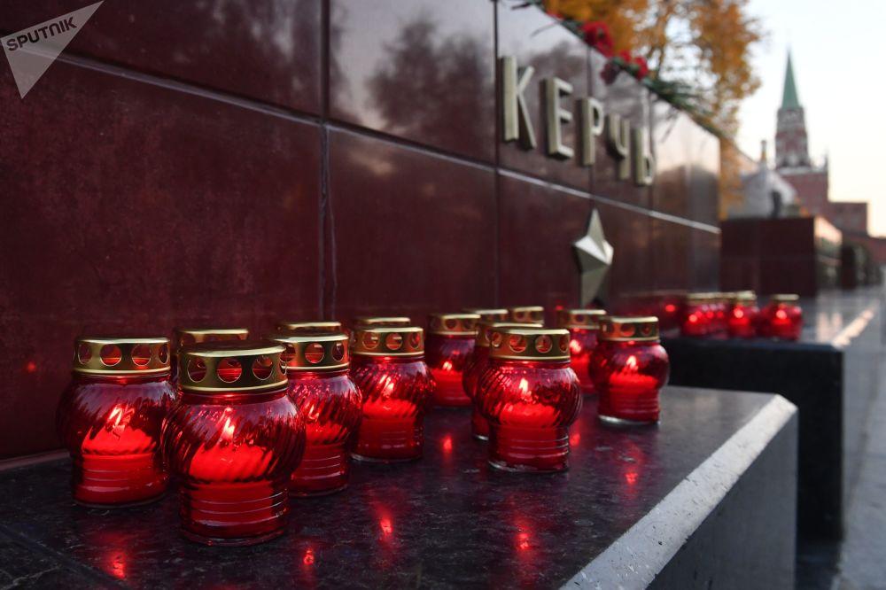 Il dolore della Russia per la tragedia di Kerch