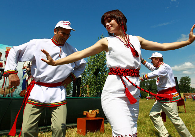 Festa folkloristica nazionale 'Velen Ozks' - MORDOVIA