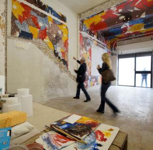 Ritrovati a Roma i murali Bal Tic Tac di Giacomo Balla