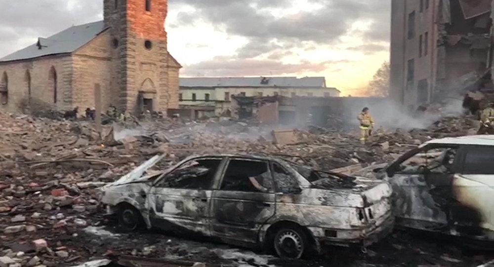 Esplosione in stabilimento pirotecnico vicino San Pietroburgo
