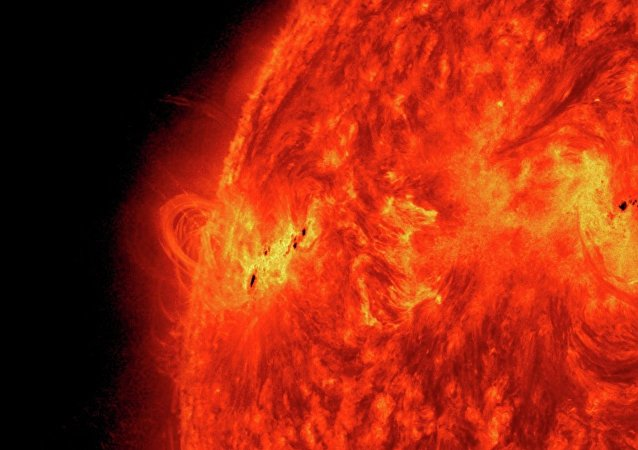 A massive solar flare erupts on May 15, 2013 as the Sun ramps up to peak solar activity.