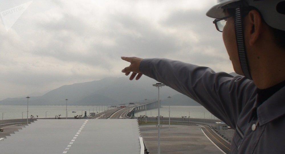 Il ponte Hong Kong-Zhuhai-Macau