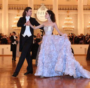 Il ballo delle debuttanti a Mosca