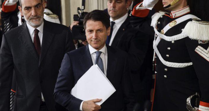 Il premier italiano Giuseppe Conte