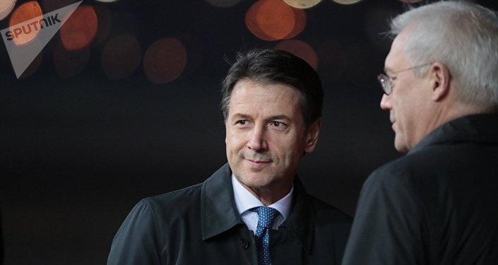 Giuseppe Conte a Mosca