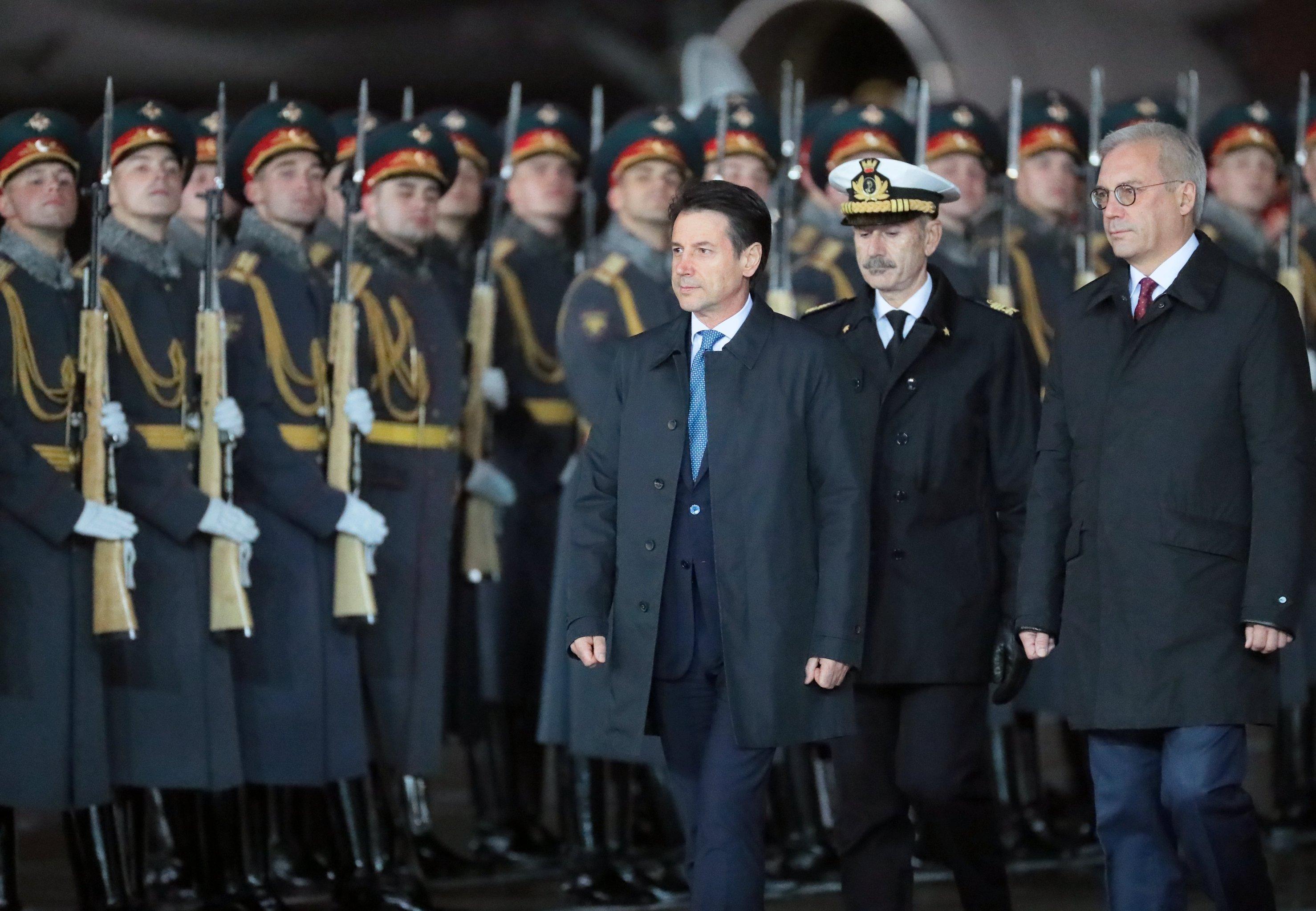 Conte invita Putin in Italia: