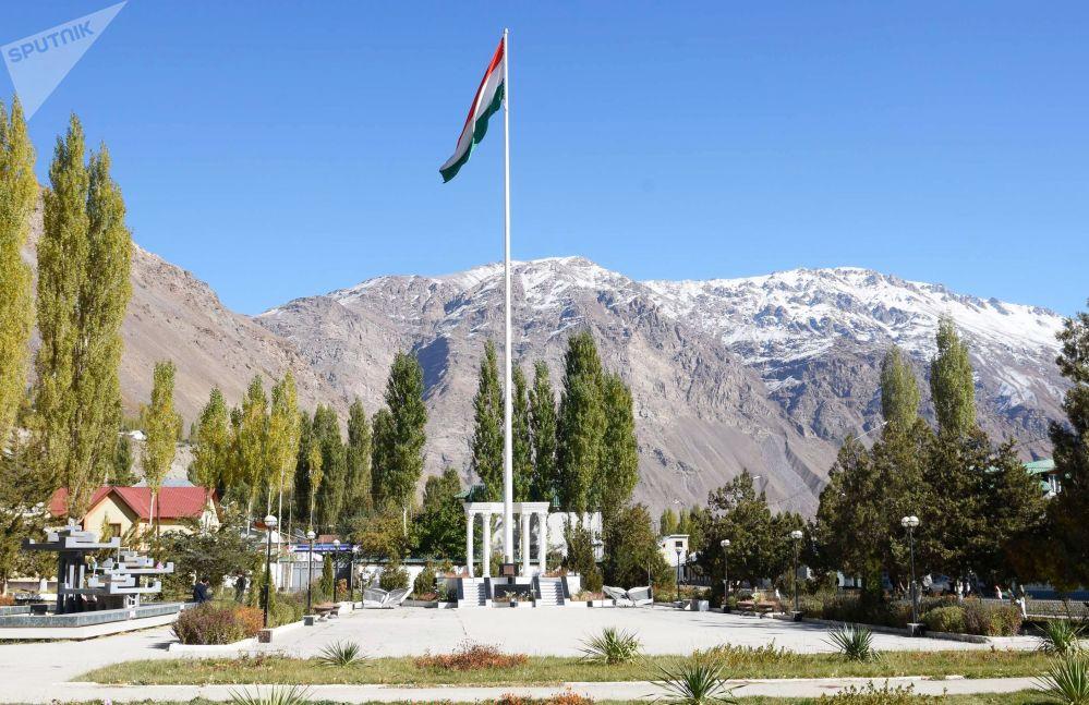 La bandiera nazionale del Tagikistan