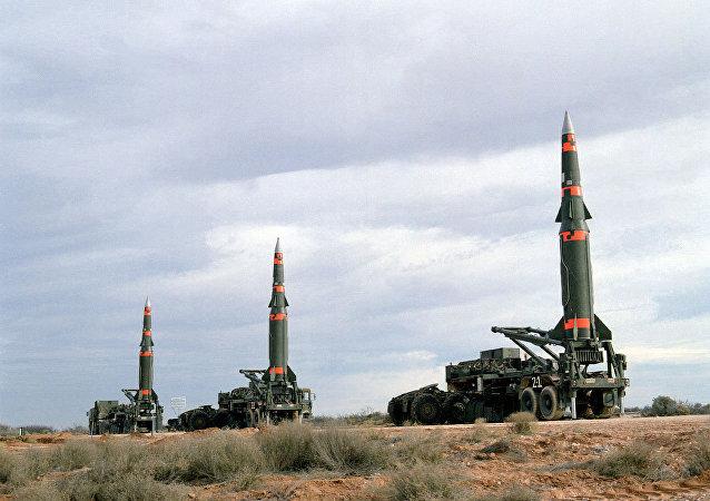 Pershing II missiles