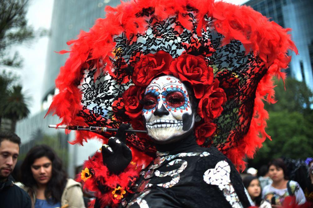 Le celebrazioni per il Giorno dei Morti, Città del Messico.
