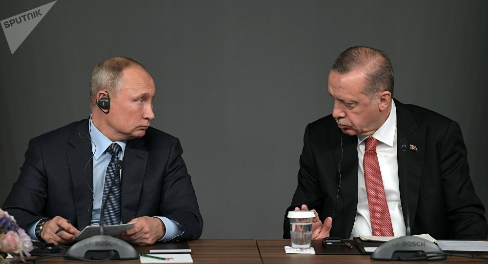 Ottobre 27, 2018, L'incontro sulla Siria tra Vladimir Putin e Recep Tayyip Erdogan