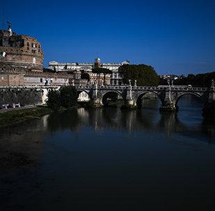 Il Castel Sant'Angelo, Roma, Italia