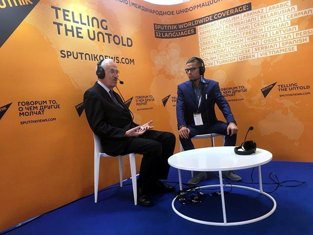 Luigi Iperti, il presidente della Camera di Commercio Italo-Uzbeka intervistato da Sputnik Italia