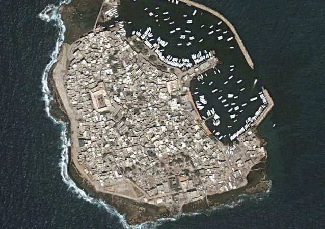 L'isola di Arvad in Siria