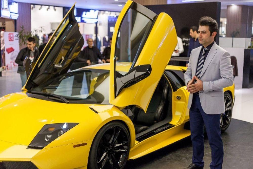 La copia iraniana della Lamborghini