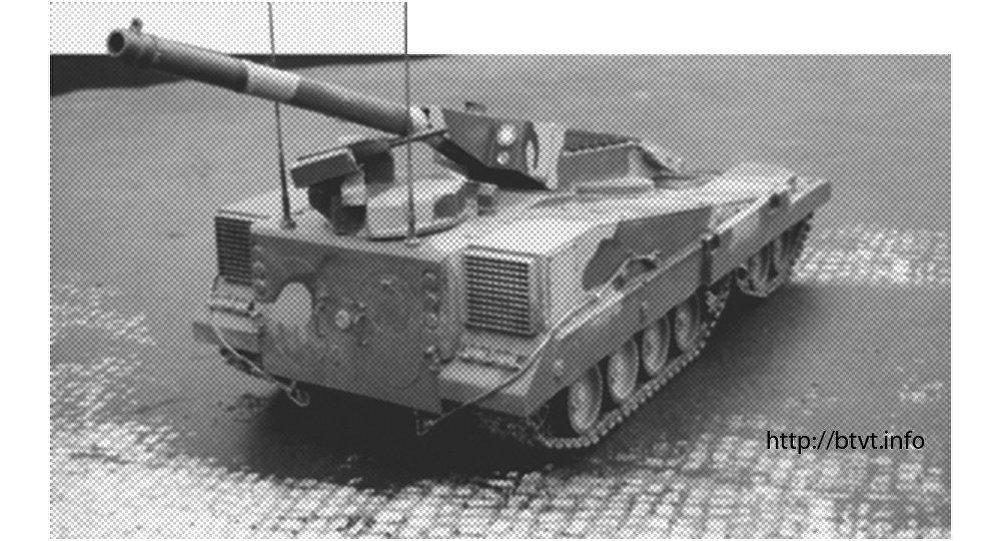 Modellino del carro armato progetto 490