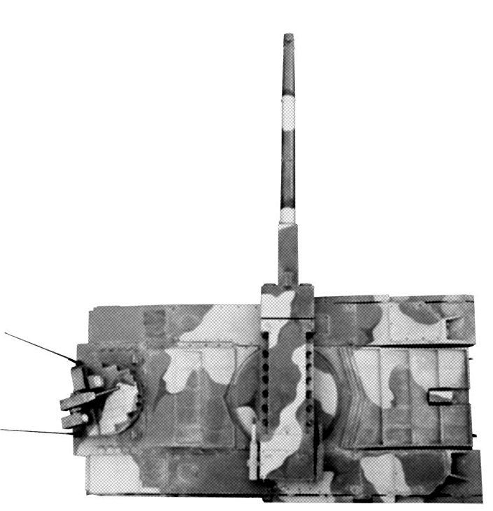 Modello del carro armato progetto 490