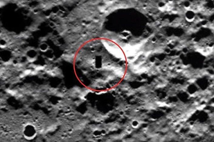 Rettangolo nero su Mercurio