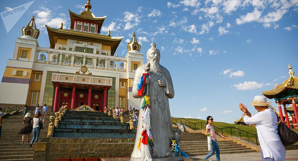 Tempio buddista a Elista - CALMUCCHIA