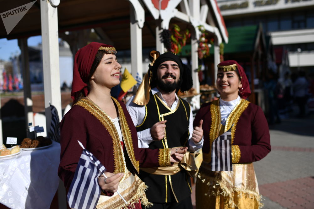 La Giornata dell'unità nazionale a Simferopoli.