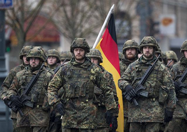 Bundeswehr-Soldaten in Litauen (Archiv)