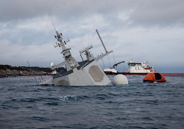 Fregata norvegese Helge Ingstad