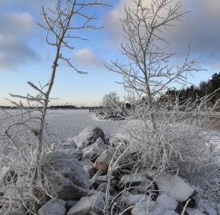 L'inverno arriva a Novosibirsk