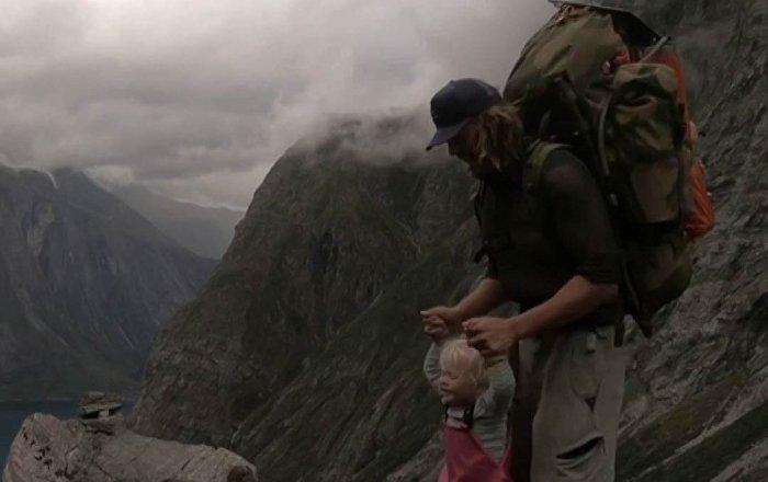 Conquista montagne a 3 anni