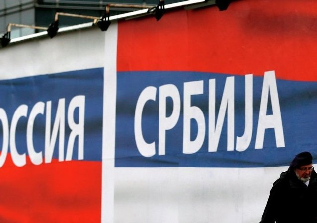 Popolarità della Russia in Serbia