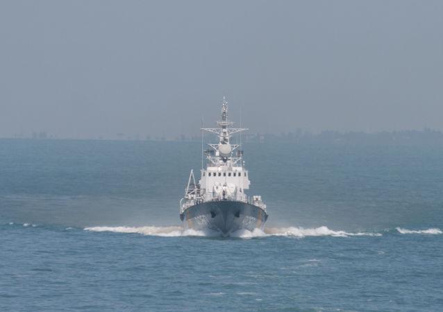 La nave Grygory Kuropyatnikov della Marina ucraina