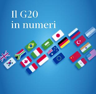 Il G20 in numeri