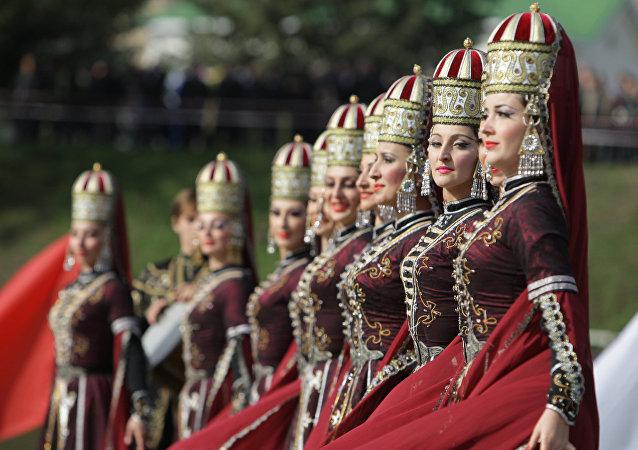 Festival dei giochi caucasici del 2010 - Karaciaj Circassia