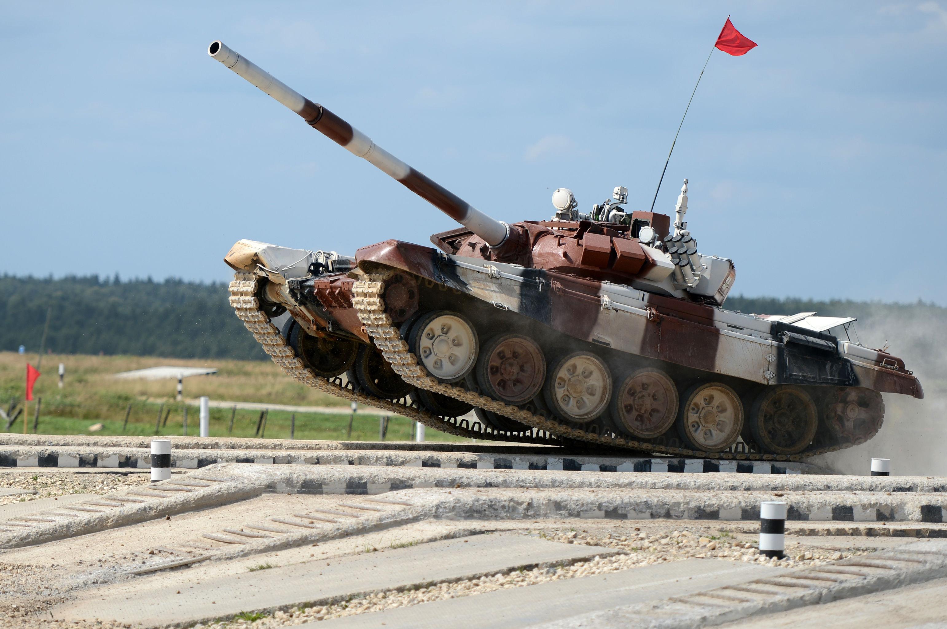 Il carro armato T-72B3