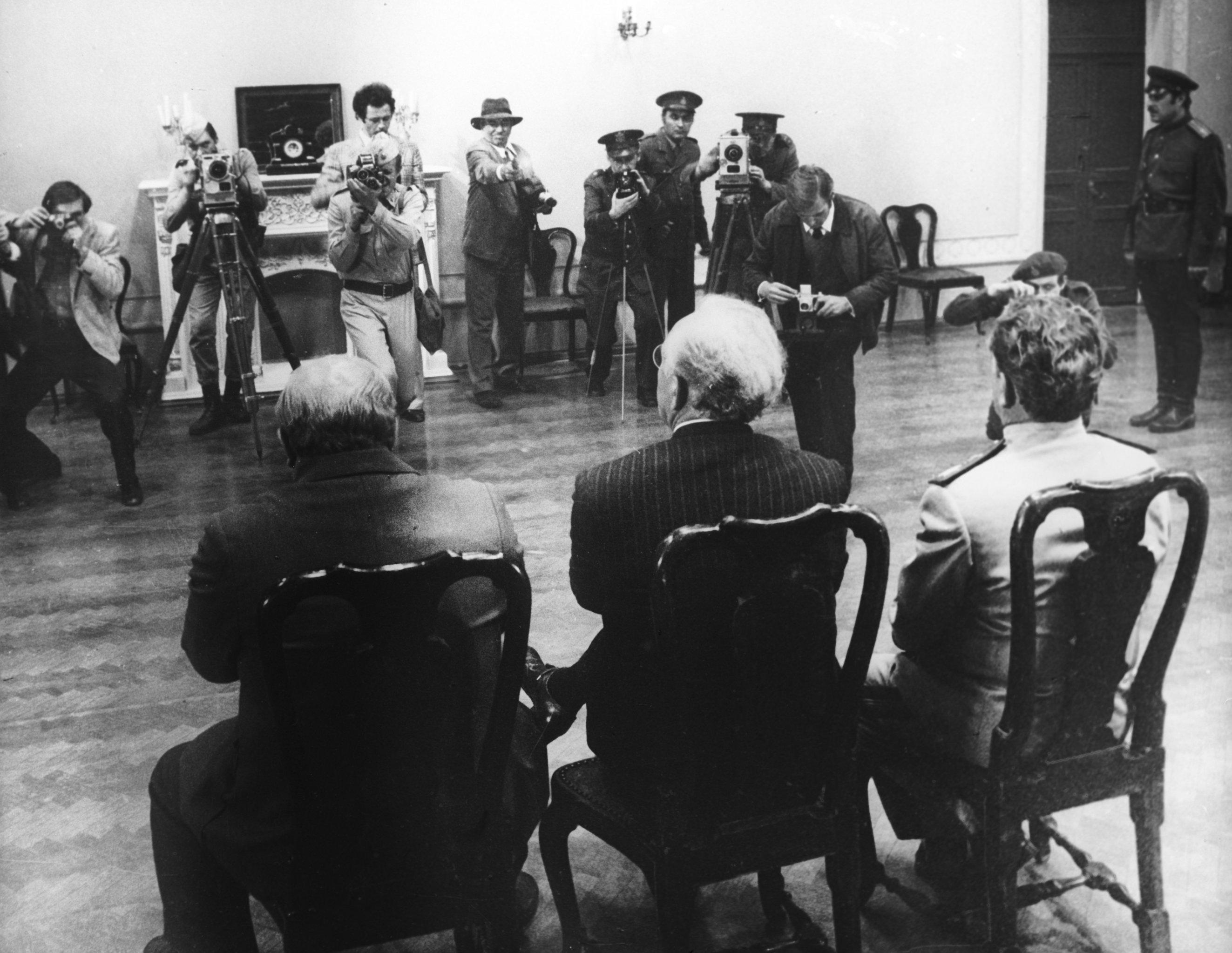 Un quadro del film Teheran 43, 1981