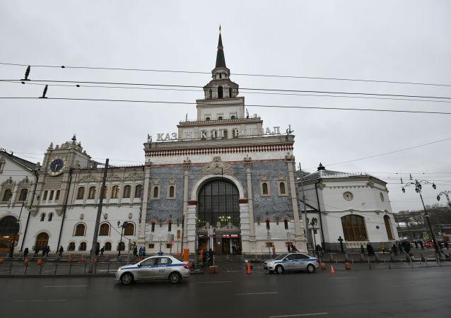 Здание Казанского вокзала в Москве