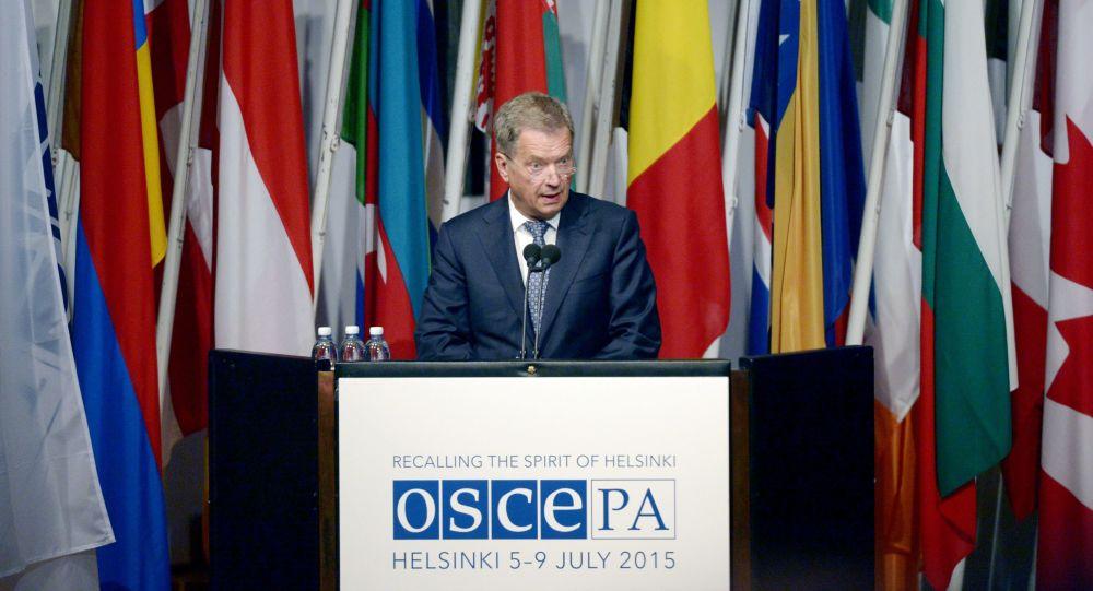 Presidente della Finlandia allAssemblea parlamentare dellOSCE