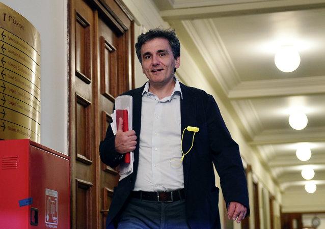 Nuovo ministro delle Finanze greco Euclid Tsakalotos