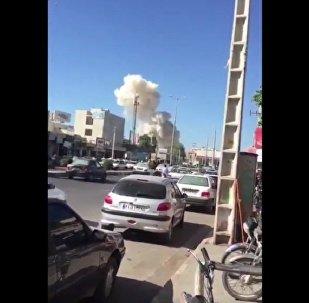 Esplosione autobomba vicino al quartier generale della polizia di Chabahar, Iran