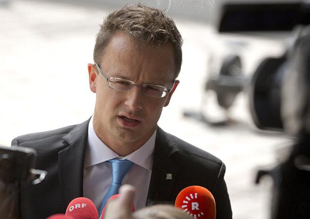 Ministro Esteri dell'Ungheria Péter Szijjártó