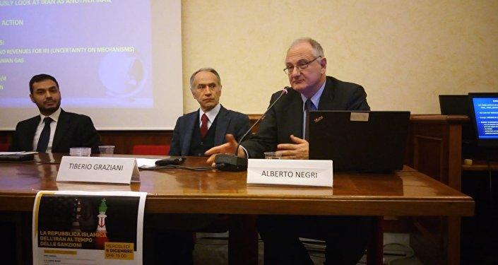 Alberto Negri - Senior Advisor per Medio Oriente e Nord Africa dell'Istituto per gli studi di politica internazionale - ISPI