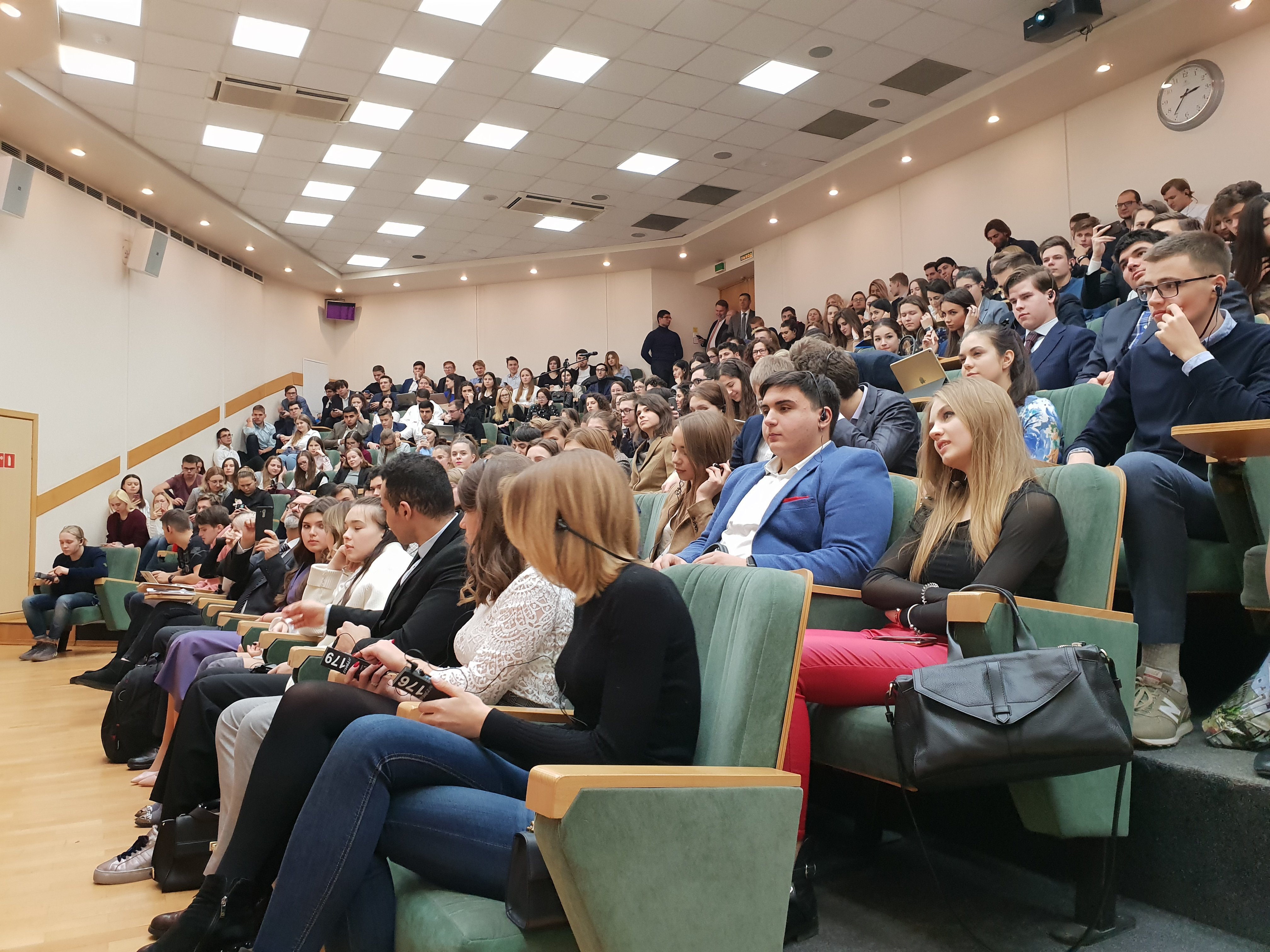 Il 6 dicembre 2018, in occasione dell'inaugurazione 8 anni fa dei rapporti tra l'Università di Macerata e l'Università Statale di Mosca per le Relazioni Internazionali (MGIMO), si è tenuta una conferenza.
