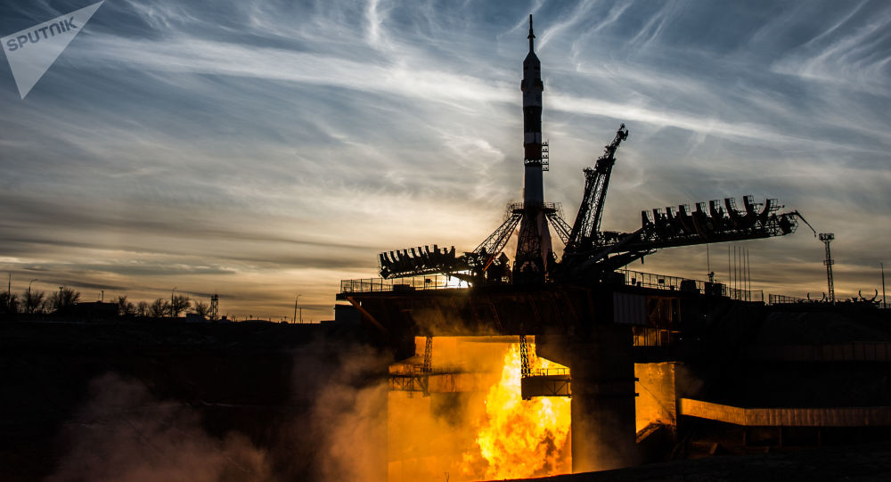 Un lancio dal cosmodromo di Baikonur.