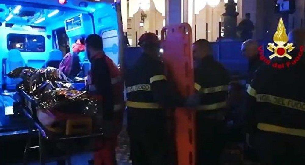 Vigili del Fuoco e soccorritori