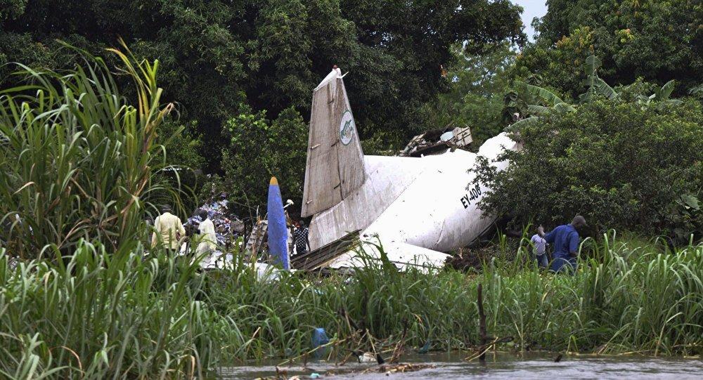 Un aereo schiantato in Sudan del Sud (foto d'archivio)